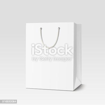 istock Shopping paper bag 516930064