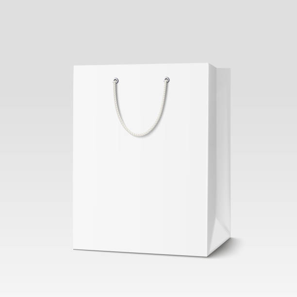 Royalty Free Paper Bag Clip Art, Vector Images ...White Paper Bag Vector
