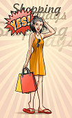drawing of vector shopping time illustrations. Created of illustrator cz6. This file of transparent.