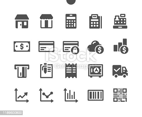 Shopping v1 UI Pixel Perfect Well-crafted Vector Solid Icons 48x48 Ready for 24x24 Grid for Web Graphics and Apps. Simple Minimal Pictogram
