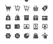 istock Shopping v2 UI Pixel Perfect Well-crafted Vector Solid Icons 48x48 Ready for 24x24 Grid for Web Graphics and Apps. Simple Minimal Pictogram 1189600742