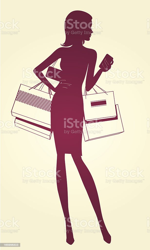 Shopping royalty-free shopping stock vector art & more images of adult