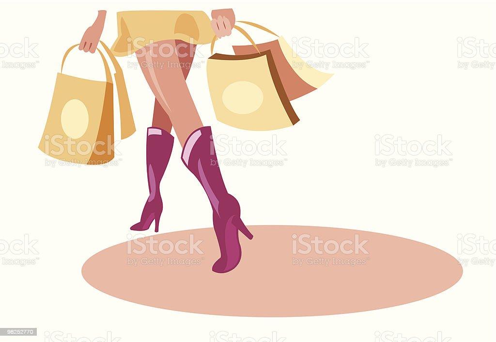쇼핑 royalty-free 쇼핑 mini에 대한 스톡 벡터 아트 및 기타 이미지