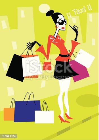 istock Mujer de compras 97641152