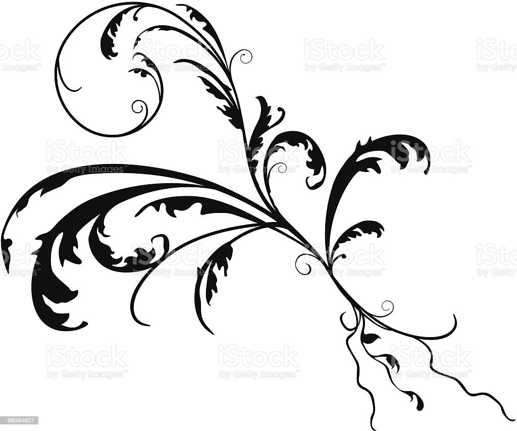 Short Scroll royalty-free short scroll stock vector art & more images of baroque style