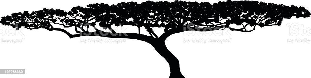 Short albero - illustrazione arte vettoriale