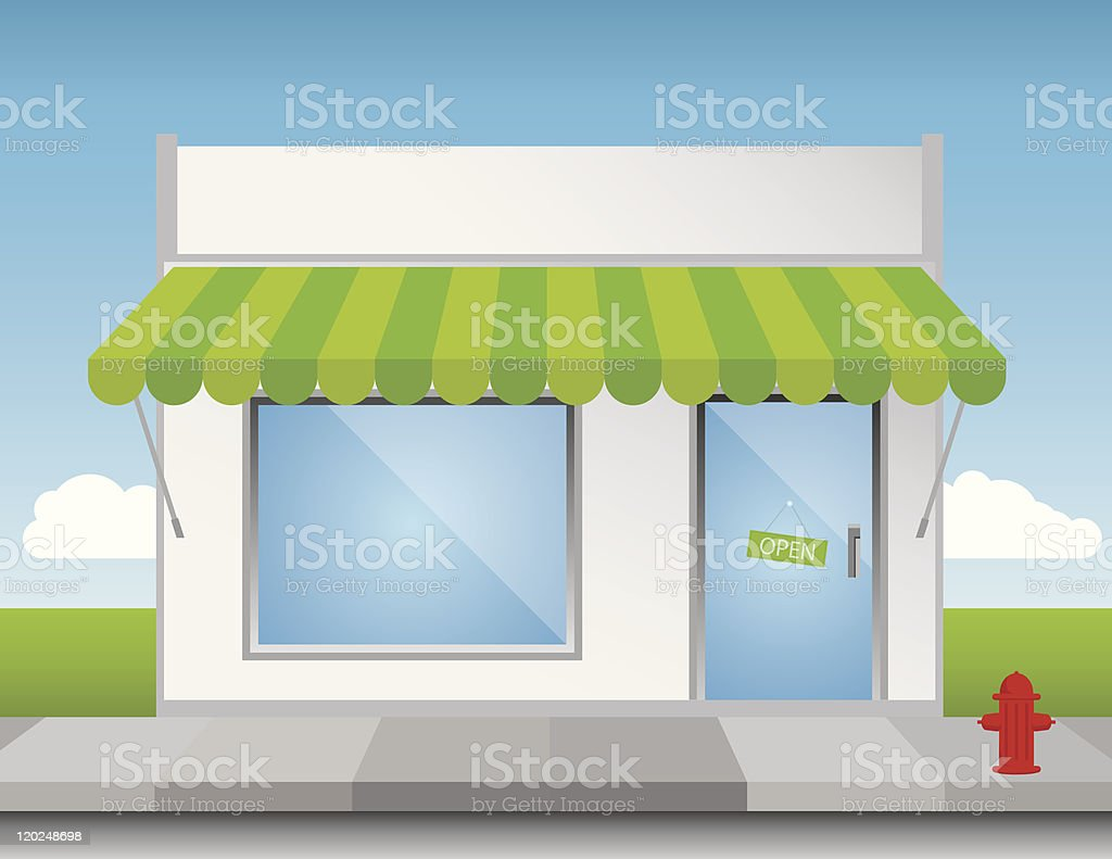 Shot Front royalty-free shot front stock vector art & more images of building exterior