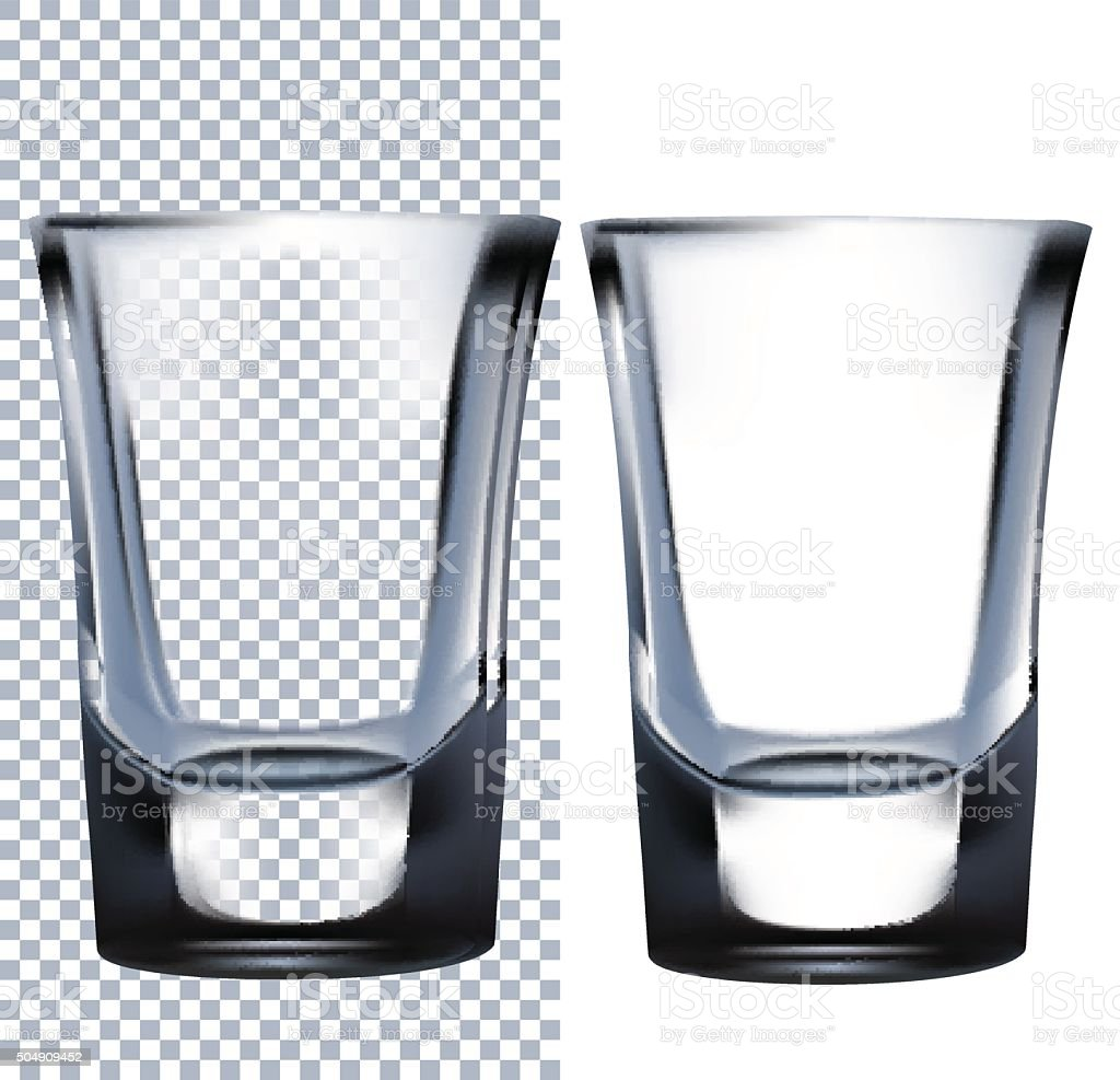 Shot Glass. Vector illustration vector art illustration