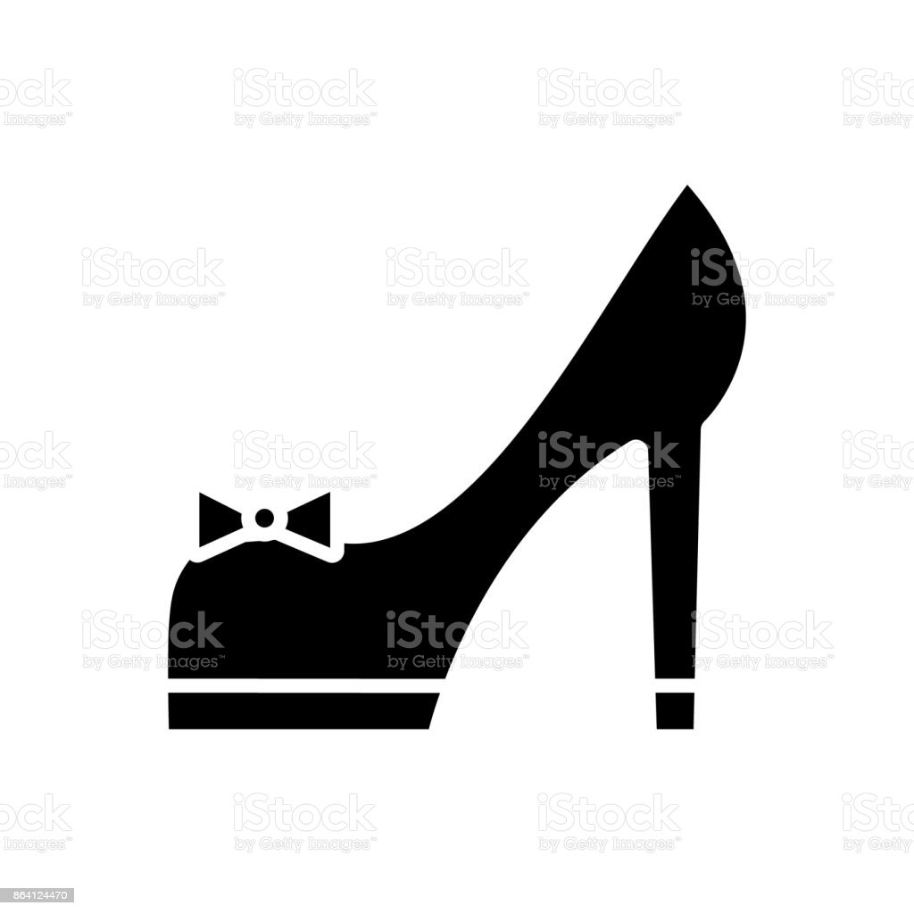 shoues bridal  icon, vector illustration, sign on isolated background royalty-free shoues bridal icon vector illustration sign on isolated background stock vector art & more images of adult