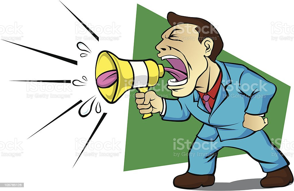 shout out loud royalty-free shout out loud stock vector art & more images of business
