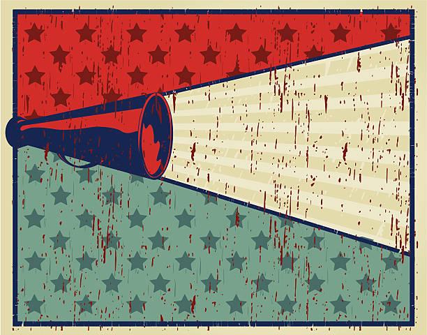 shout poster - fanfare stock-grafiken, -clipart, -cartoons und -symbole