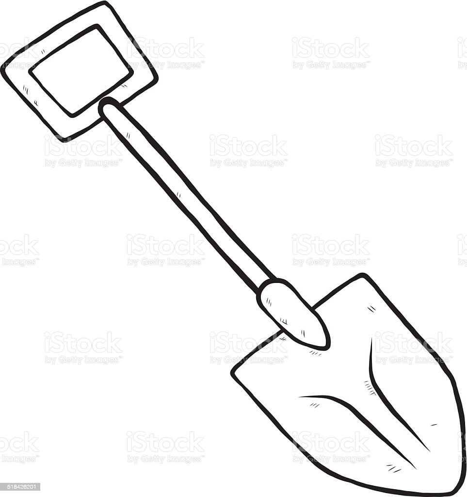 Shovel Or Spade Stock Vector Art Amp More Images Of