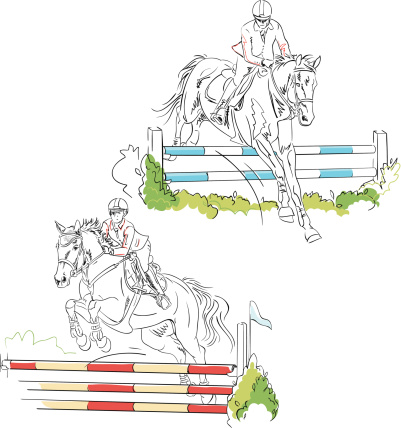Show Jumping Sketches