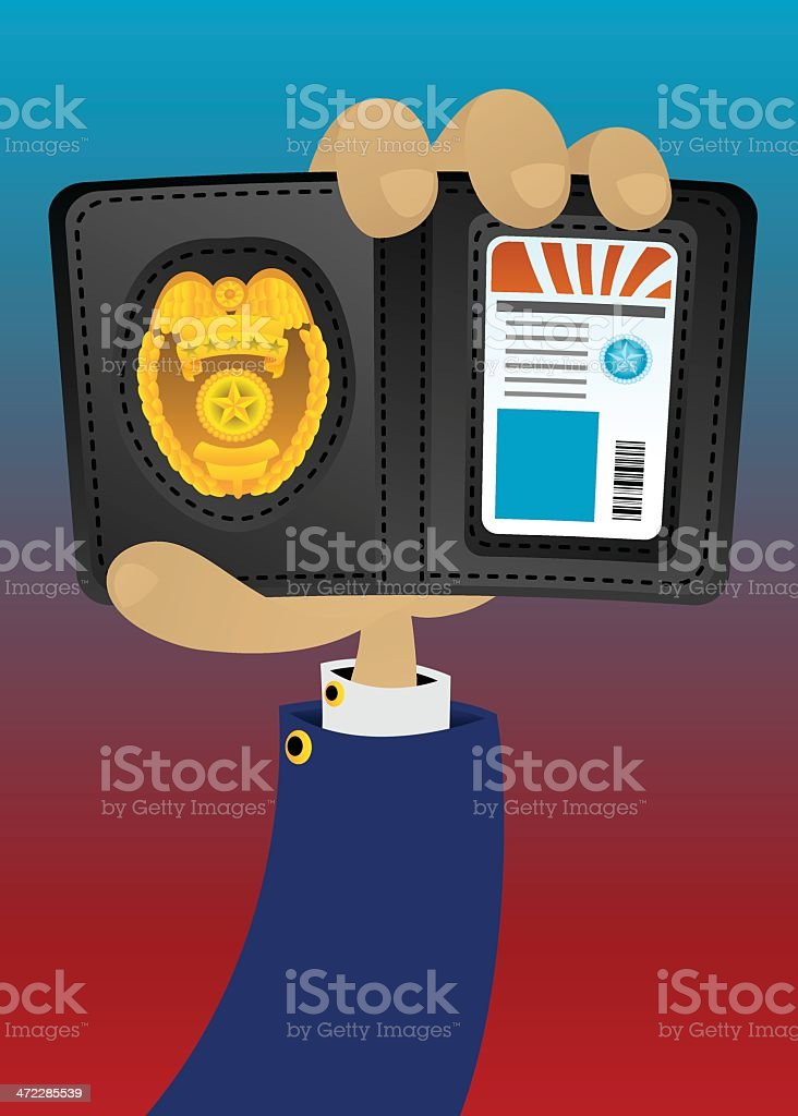 Show me your badge royalty-free show me your badge stock vector art & more images of authority