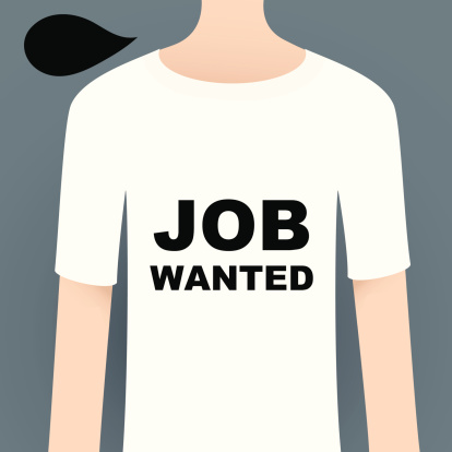 Show Your Attitude With T-Shirt ( JOB WANTED )