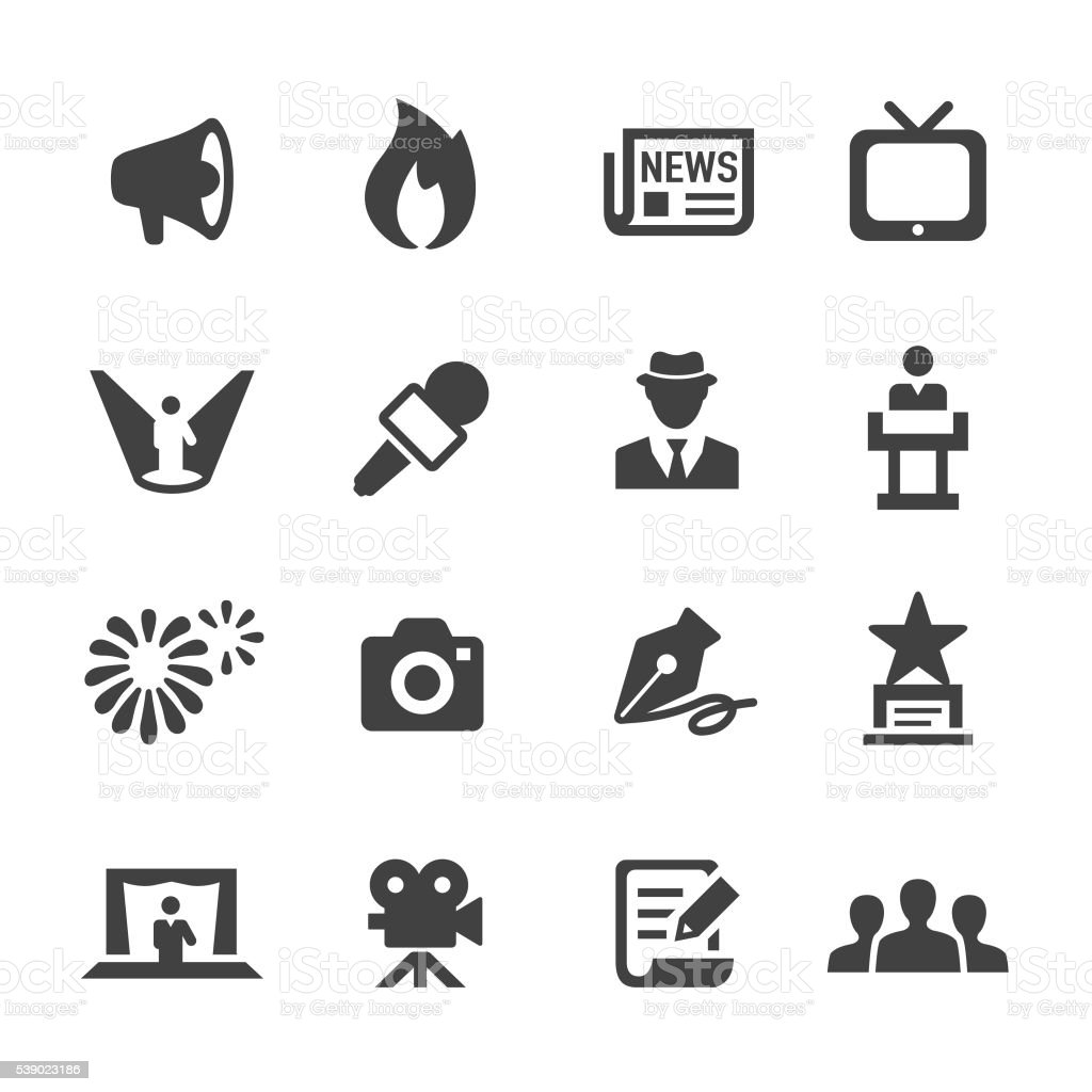 Showbiz and Entertainment Icons - Acme Series
