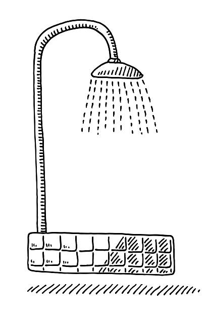 shower symbol drawing - 淋浴 幅插畫檔、美工圖案、卡通及圖標