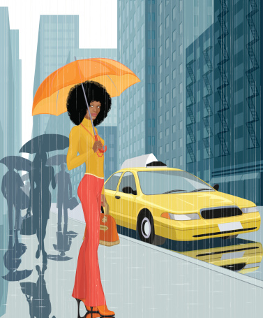 New York fashion stock illustrations