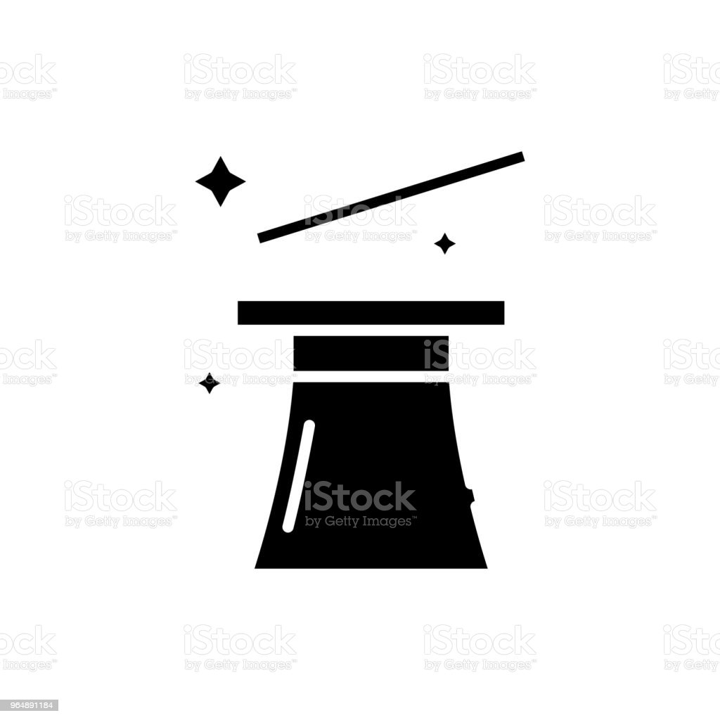 Showing tricks black icon concept. Showing tricks flat  vector symbol, sign, illustration. royalty-free showing tricks black icon concept showing tricks flat vector symbol sign illustration stock vector art & more images of abstract