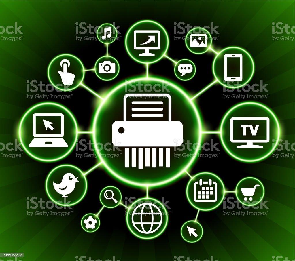 Shredding Paper Internet Communication Technology Dark Buttons Background shredding paper internet communication technology dark buttons background - stockowe grafiki wektorowe i więcej obrazów czarne tło royalty-free