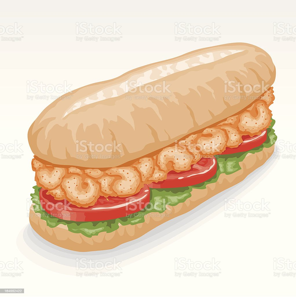 royalty free breaded shrimp clip art vector images illustrations rh istockphoto com Cookie Clip Art Po-Boy Clip Art