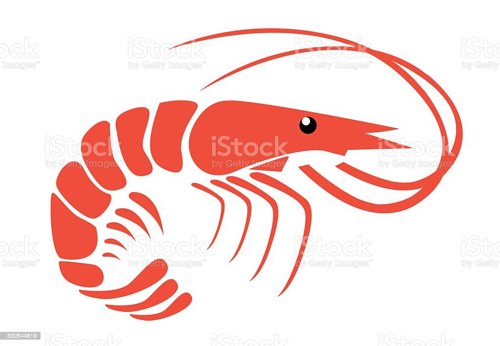 Shrimp Stock Vector Art & More Images of 2015 532644819 | iStock