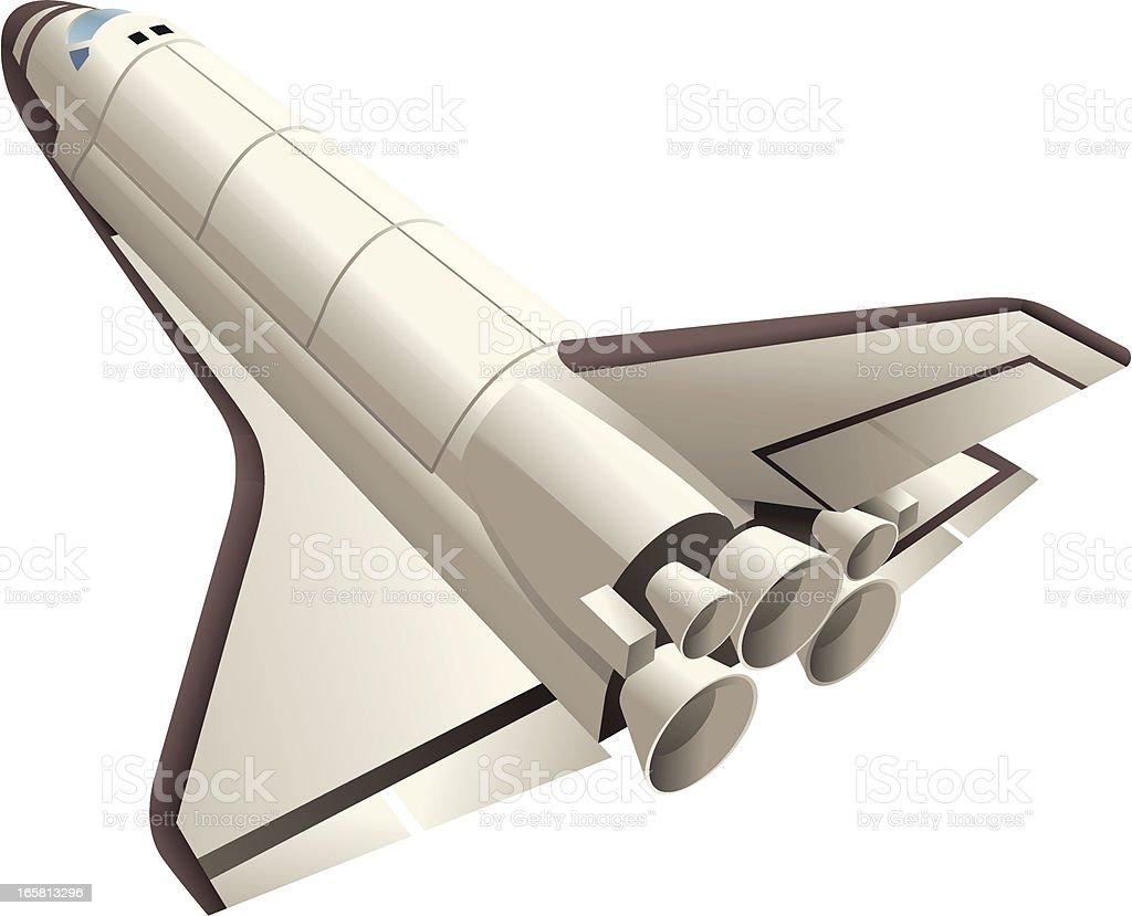 Shuttle vector art illustration