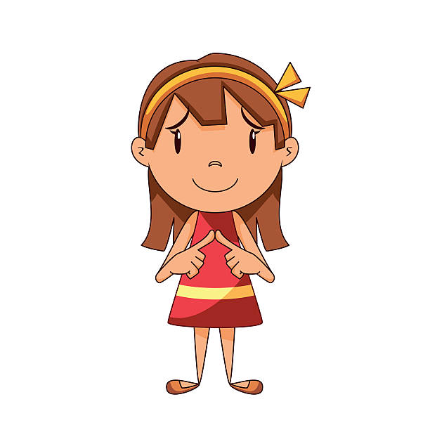 Best Shy Illustrations, Royalty-Free Vector Graphics ...