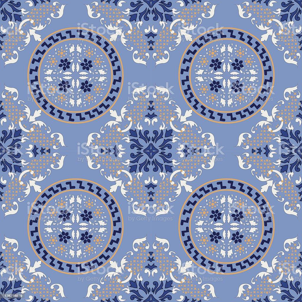 sicilian tile royalty-free stock vector art