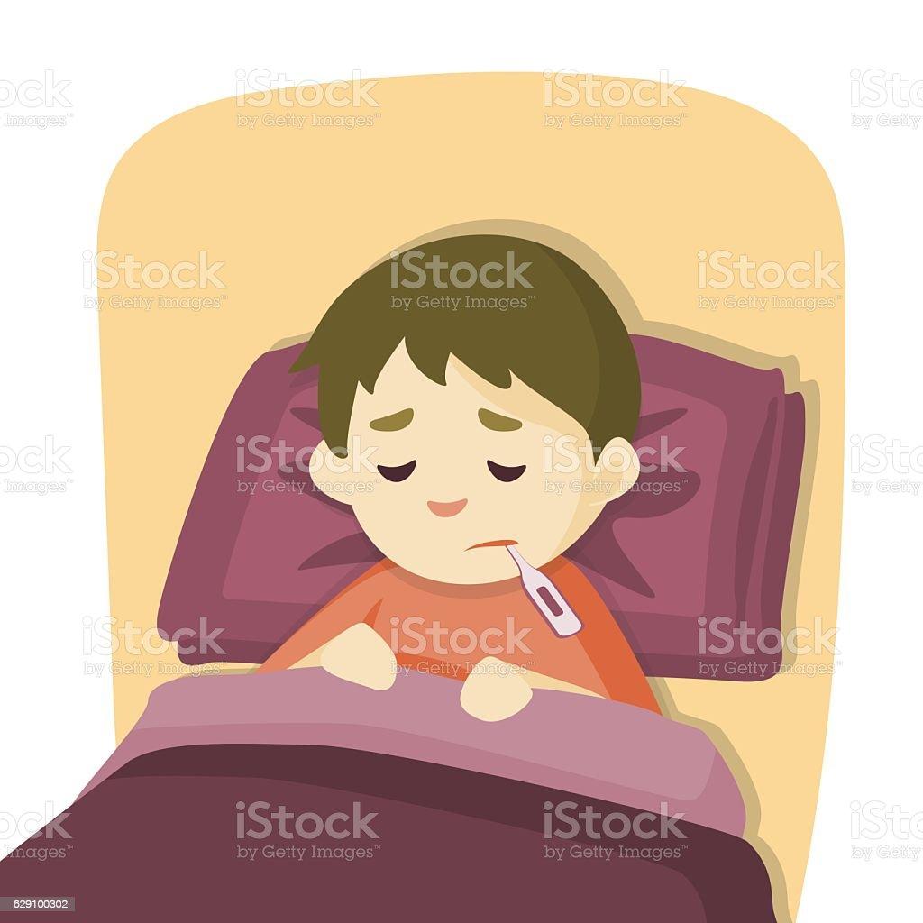Kind Und Eltern Stehend Krankenbett Lizenzfrei Nutzbare Vektorgrafiken,  Clip Arts, Illustrationen. Image 15861420.