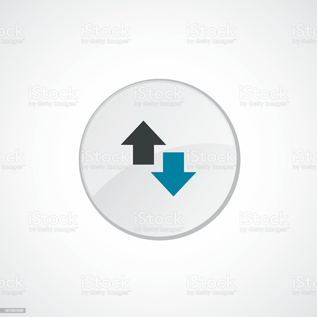 2 Side Arrow Icon 2 Colored Stock Vector Art More Images Of 2015