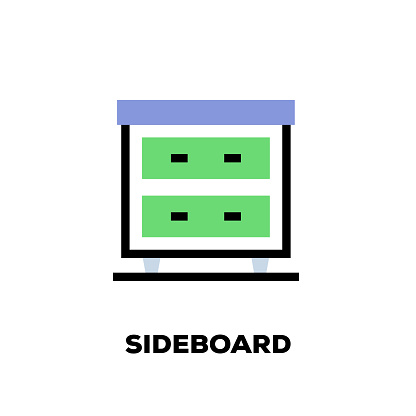 Sideboard Line Icon