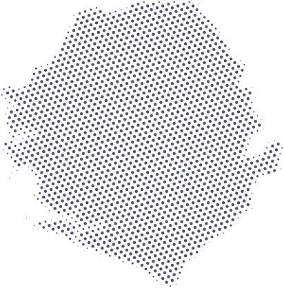 Sierra Leone map of dots