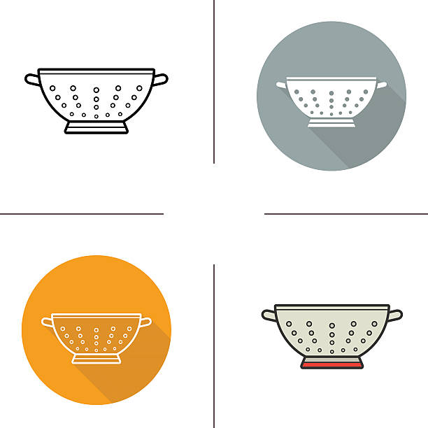 Royalty Free Strainer Clip Art, Vector Images ...