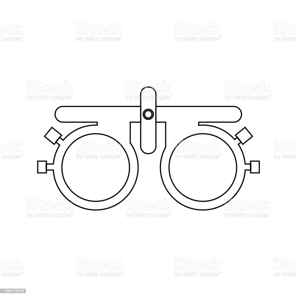 Sight Glasses Icon Element Of Cyber Security For Mobile