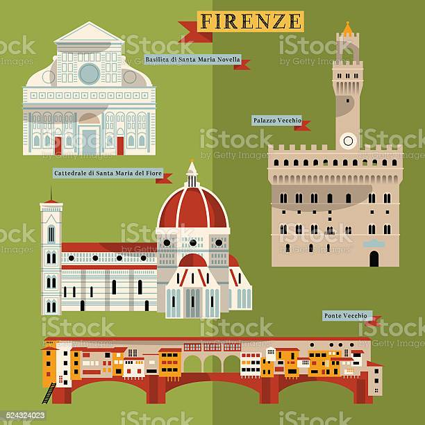 Sights of florence italy europe vector id524324023?b=1&k=6&m=524324023&s=612x612&h=zpmdn1gbwqrhamg2wiox rwfhix5wxr kqywrwhncja=