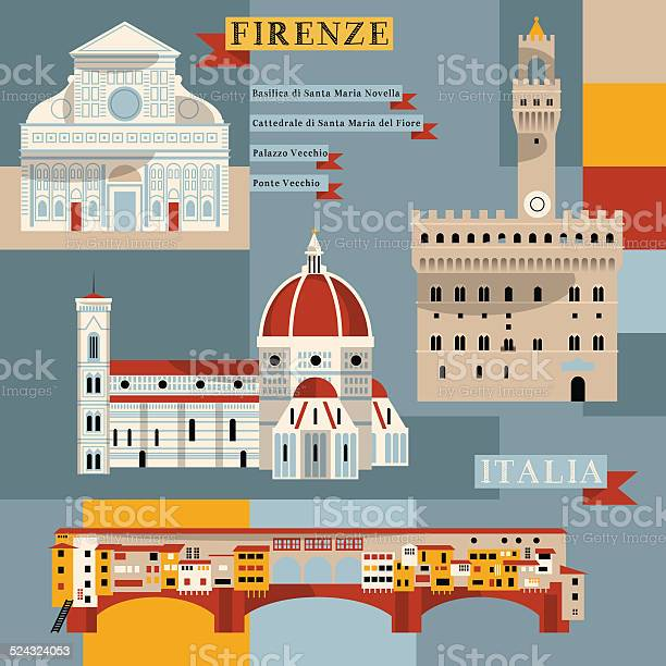 Sights of florence italy europe vector id524324053?b=1&k=6&m=524324053&s=612x612&h=e3eynlqck53oxenynhmv ma1yuuy93ktynfwdc 1cdc=
