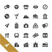 Sightseeing Icons - Select Series