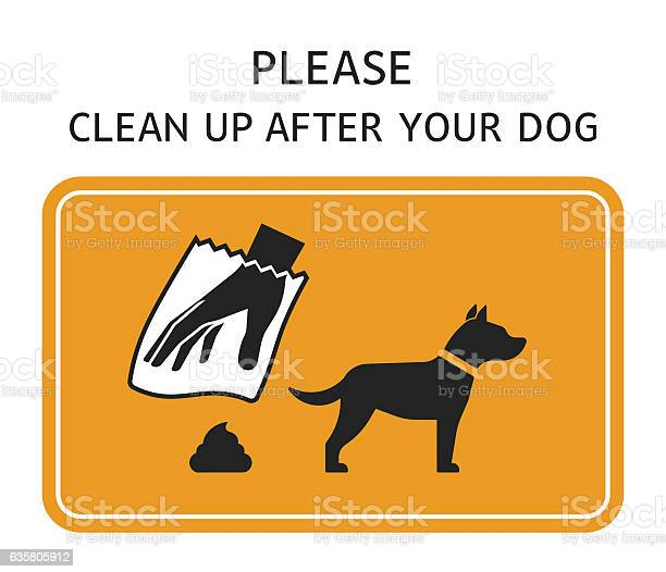Sign clean up after your dog vector id635805912?b=1&k=6&m=635805912&s=612x612&h=kvcodqpiw9c98tqzorkyilcq7ftbqjyvg3 f2aq42ly=