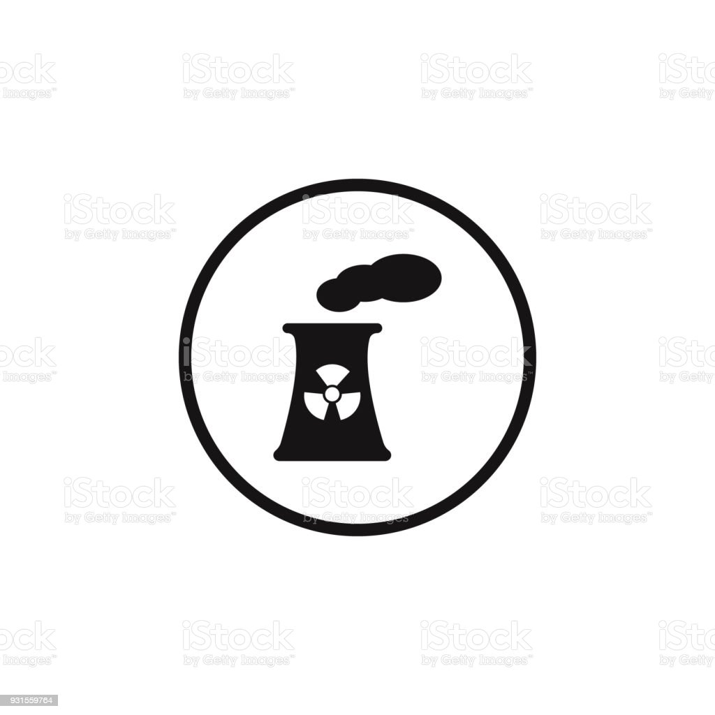 Sign dangerous nuclear power plant icon element of danger signs sign dangerous nuclear power plant icon element of danger signs icon premium quality graphic biocorpaavc Gallery