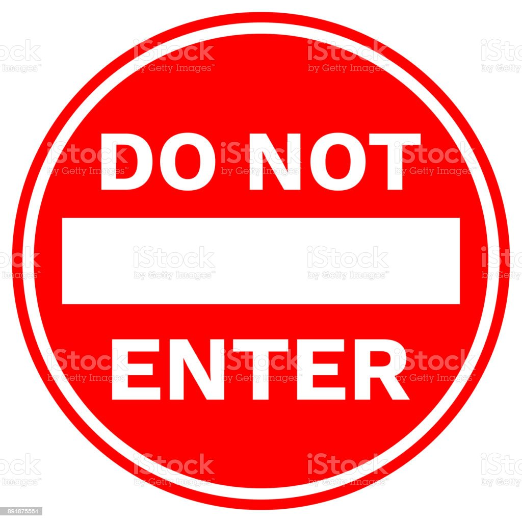 Image result for do not pass