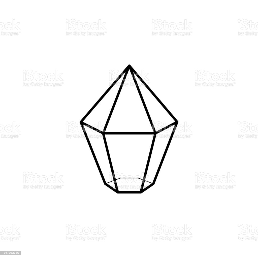 Sign In The Game Crystal Icon Element Of Computer Games For