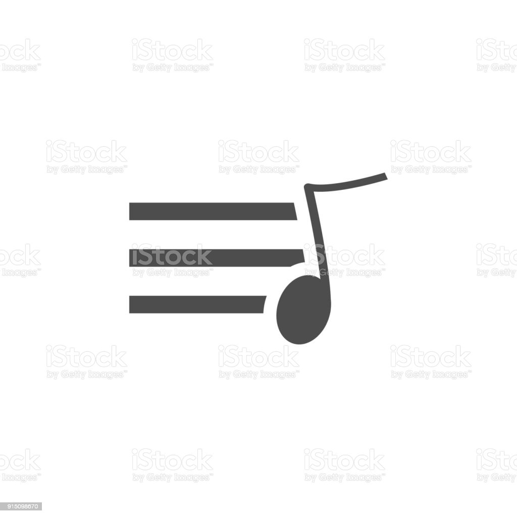 sign musical sheet icon. Elements of web icon. Premium quality graphic design icon. Signs and symbols collection icon for websites, web design, mobile app vector art illustration