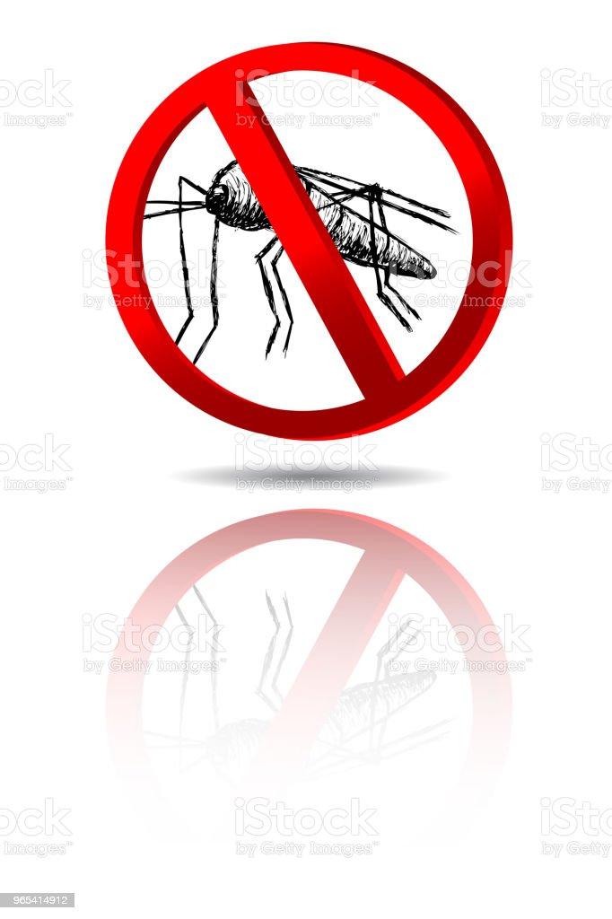 sign no Mosquito sign no mosquito - stockowe grafiki wektorowe i więcej obrazów bezkręgowce royalty-free