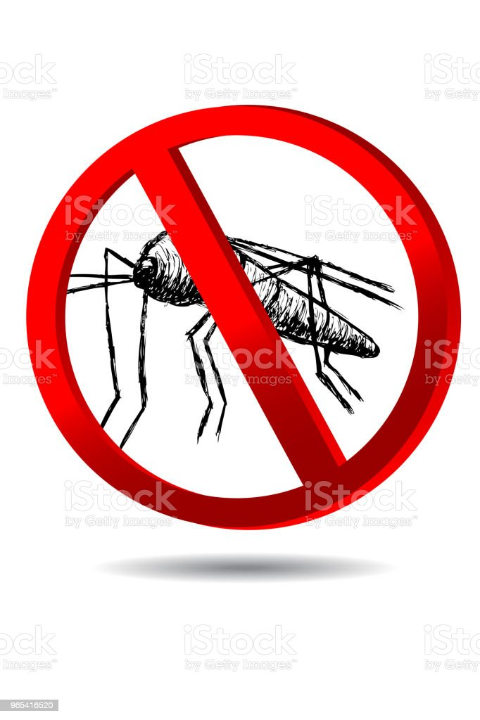 sign no Mosquito royalty-free sign no mosquito stock vector art & more images of aedes aegypti