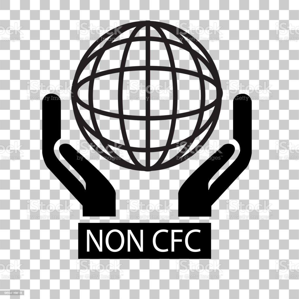 Sign, Non CFC sign non cfc - stockowe grafiki wektorowe i więcej obrazów biologia - nauka royalty-free
