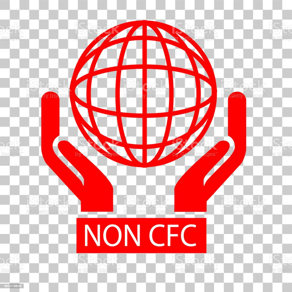 Sign, Non CFC royalty-free sign non cfc stock vector art & more images of badge