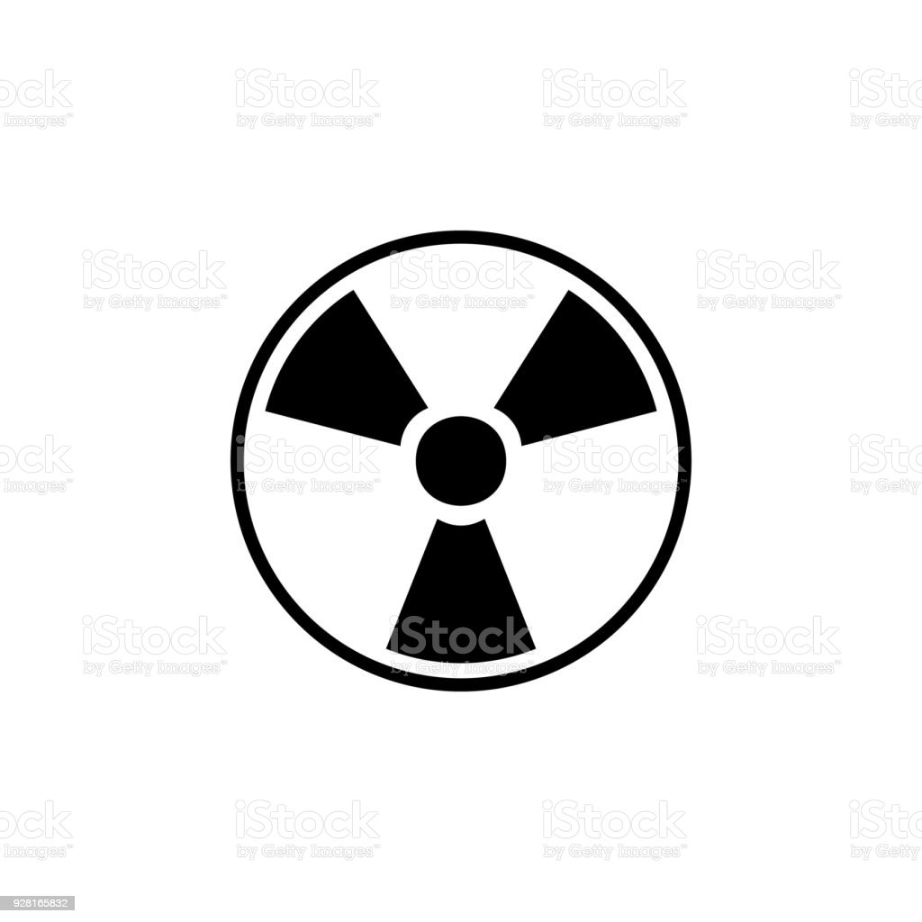 Sign Of Radiation Icon Detailed Icon Of Ecology Signs Icon Premium