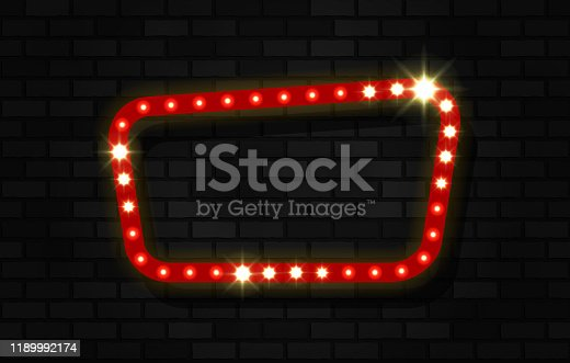 istock sign on bricks background 1189992174