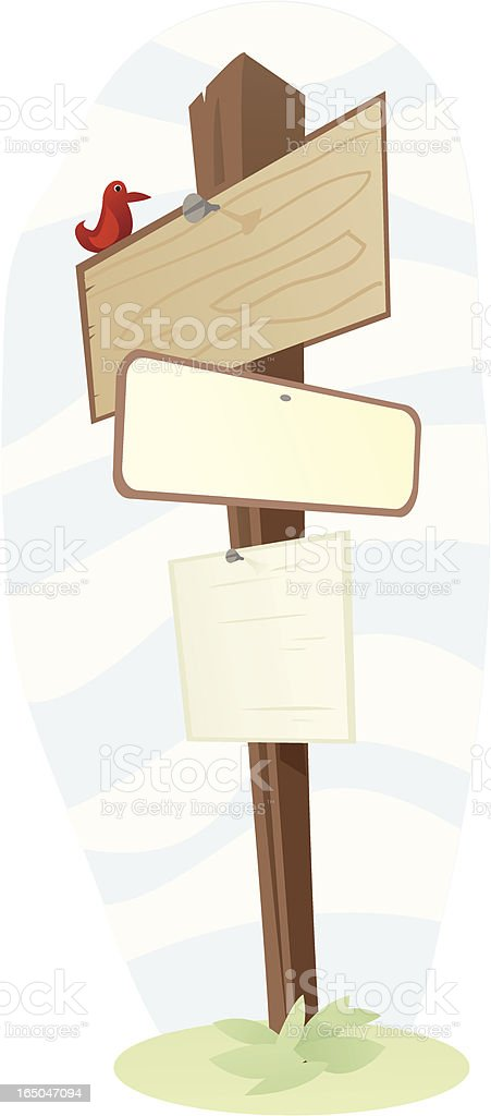 sign post royalty-free sign post stock vector art & more images of blue